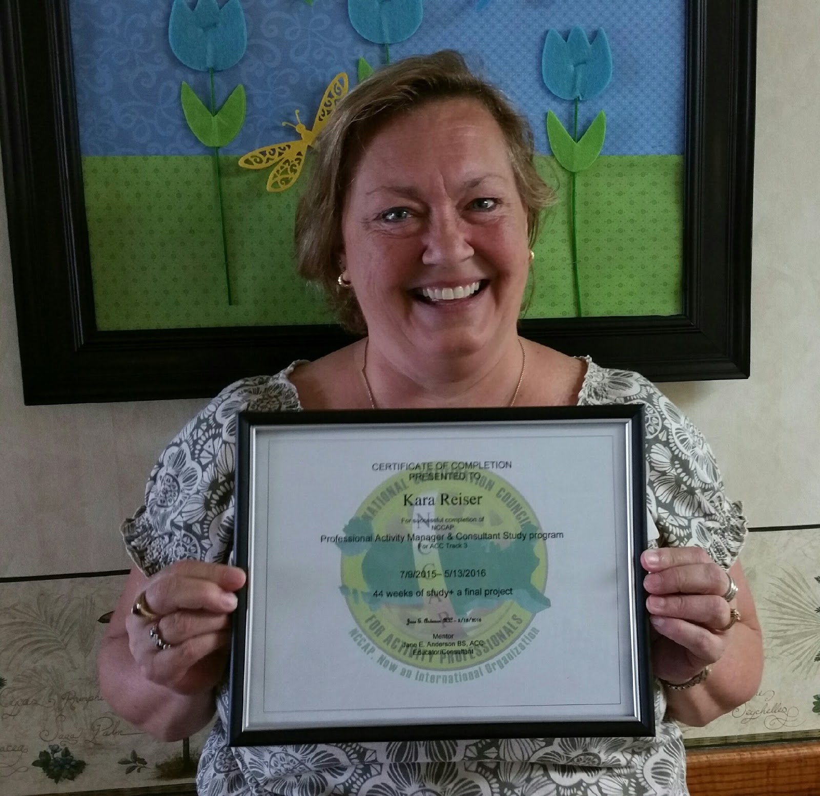 Activity courses may 2016 track 3 httpnccap her mentor was jane anderson bs acc httpactivitydirectorweebly kara is the activity director certified for anoka xflitez Gallery