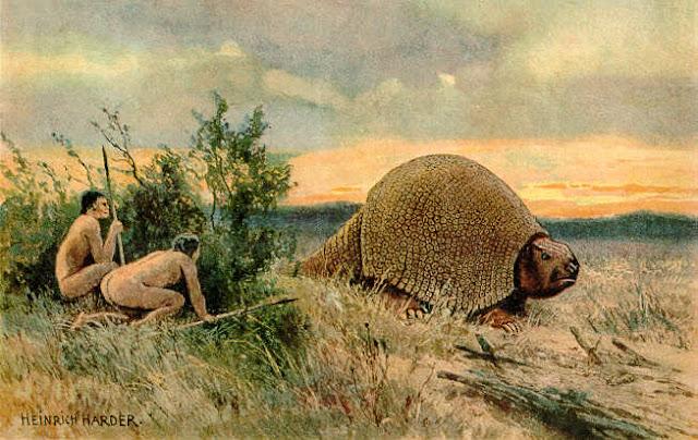 Un huevo gigante, posiblemente de un gliptodonte, hallado en Argentina