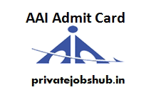 AAI Admit Card