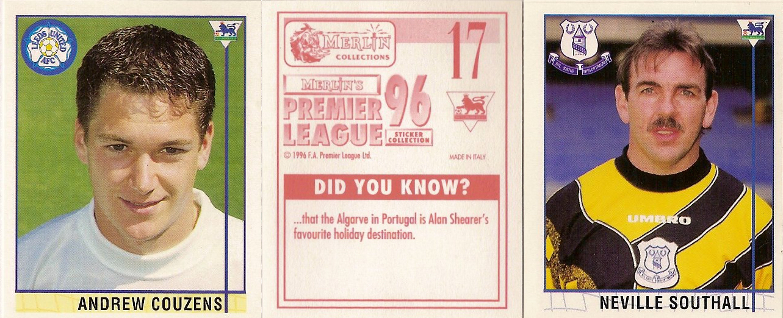 481 Merlin Premier League 96-Home Kits Middlesbrough no