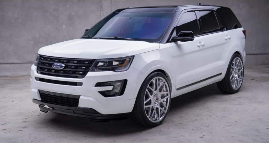 2019 Ford Explorer Concept