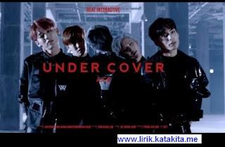 Lirik lagu A.C.E - UNDER COVER beserta arti bahasa indo