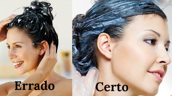 como prender o cabelo na hidratacao