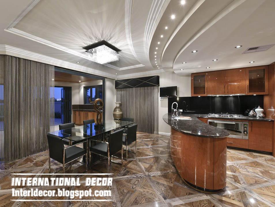 Top catalog of kitchen ceiling false designs - part 2