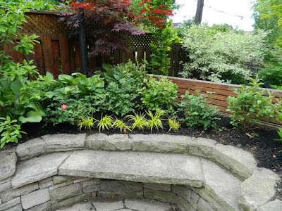 New Back garden perennial bed in Wychwood After by Paul Jung Gardening Services--a Toronto Gardening Company