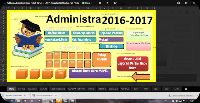 Download File Aplikasi Administrasi Guru Terbaru Dan Terlengkap Gratis