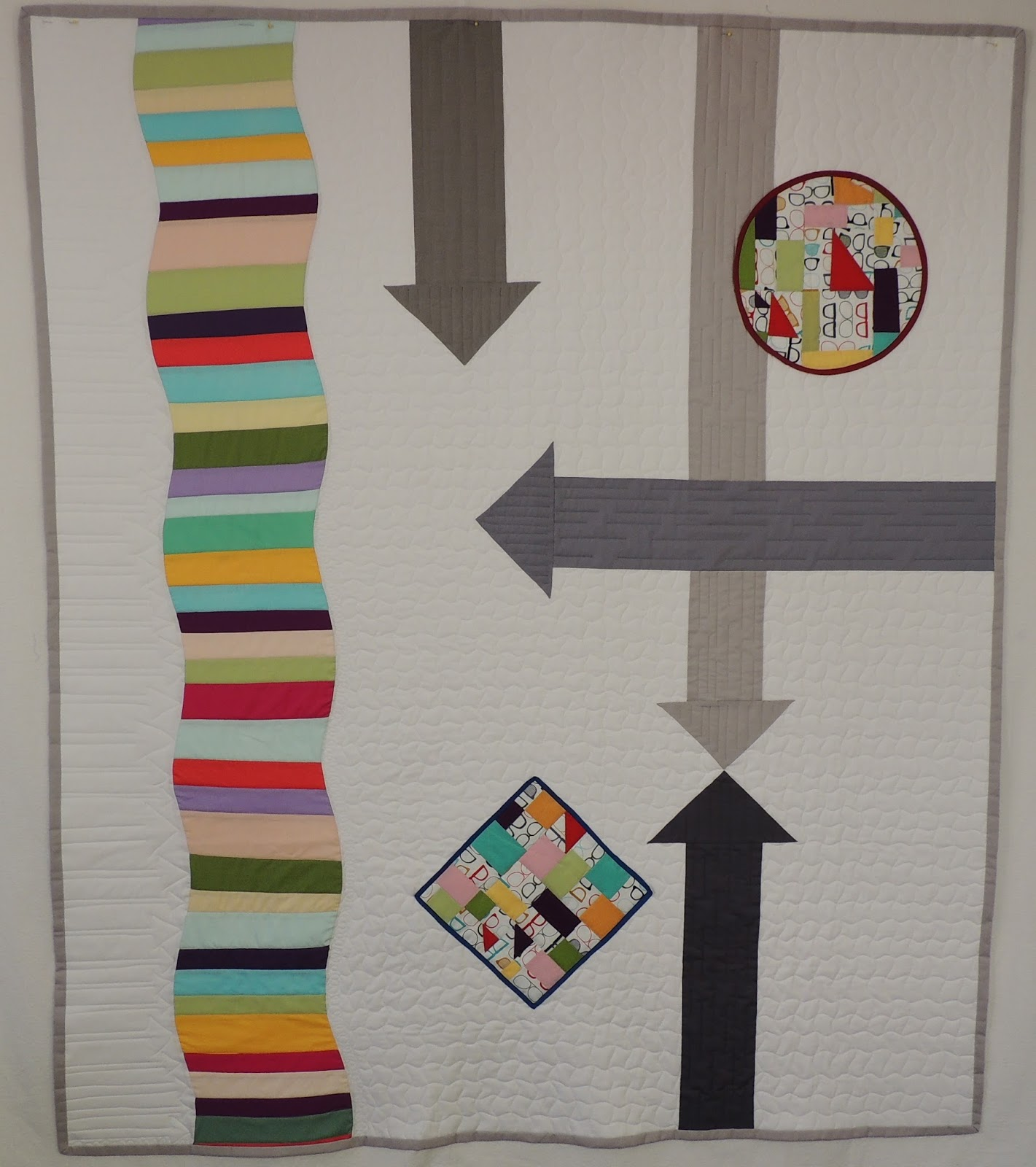 free form quilt piecing  Cspoonquilt: Free Form Curve Piecing