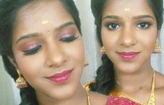 Wedding Guest/Bridesmaid Makeup-SouthIndian Style for DarkSkin