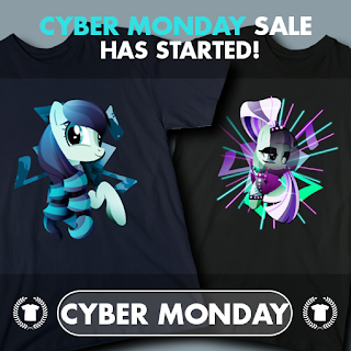 MLP Tee's Sale Extended for Cyber Monday
