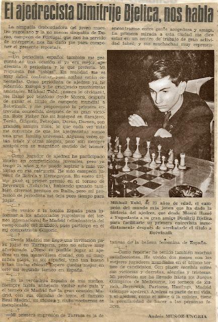 Entrevista a Dimitrije Bjelica en 1960