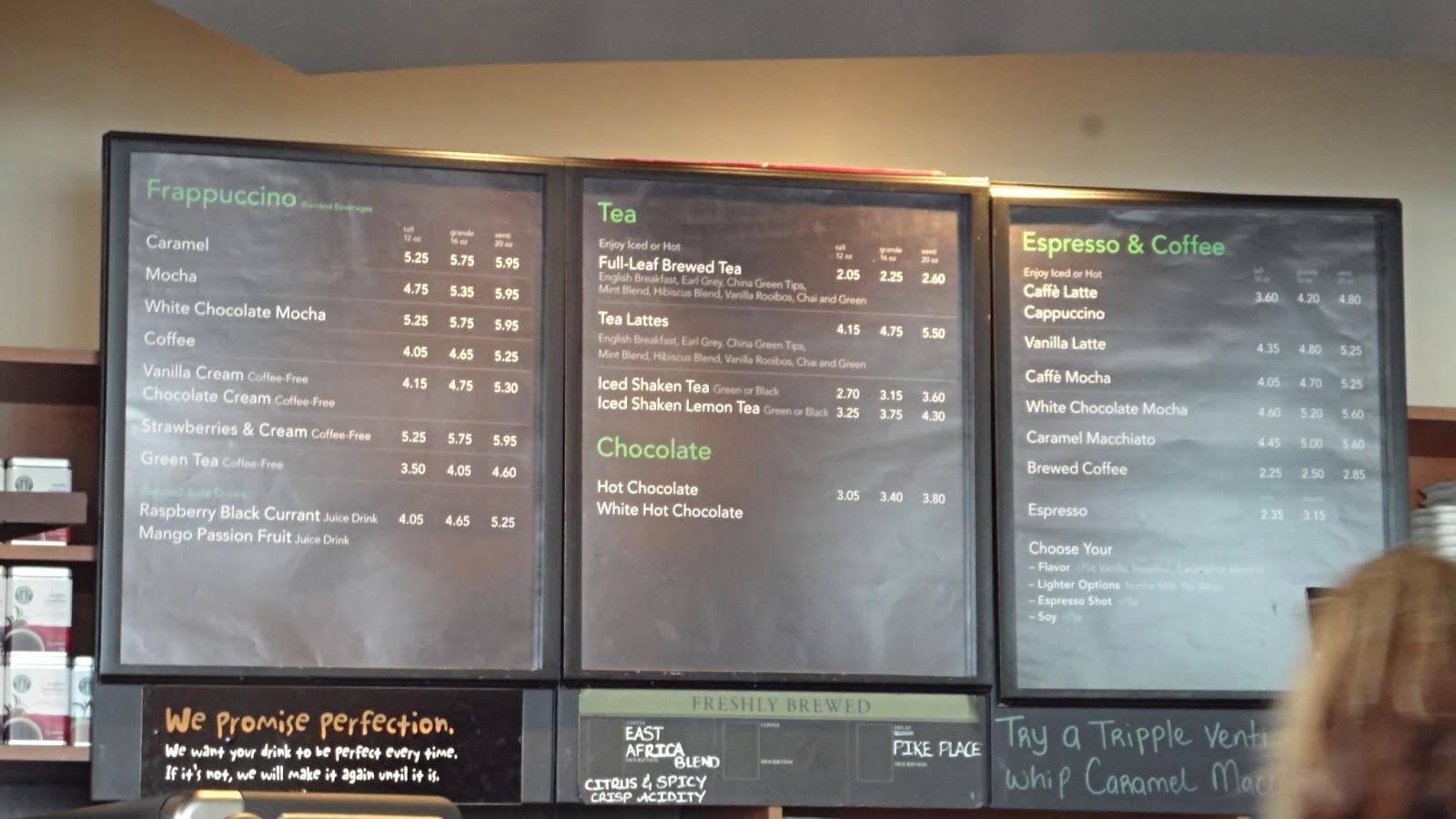 Amuse Bouches Starbucks Coffee