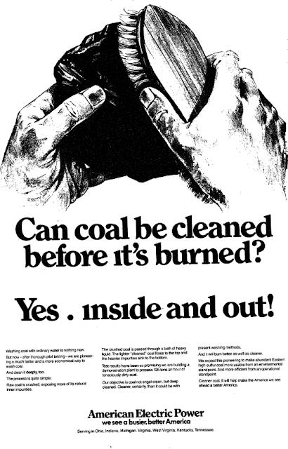 """Campagne de communication de 1979 en faveur du """"charbon propre"""" aux Etats-Unis"""