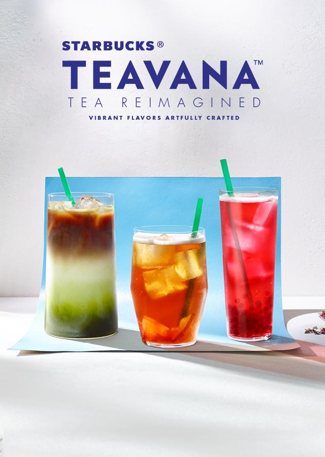 The Food Alphabet and More: Starbucks Teavana : Tea ...