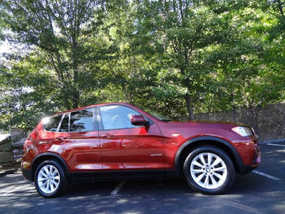2014 BMW X3 xDrive28i, Vermilion Red Metallic, Foreign Motorcars Inc, Quincy Massachusetts, 02169, For Sale