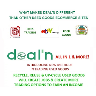 Up-Cycling & Trading Used Goods!