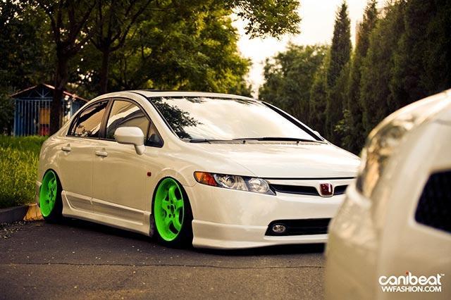 Honda Civic Rebaixado Branco | Only Cars - Carros Rebaixados,Tuning ...