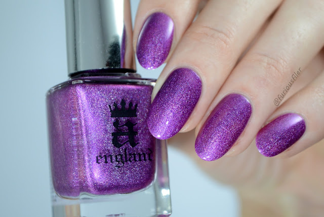 A England crown of thistles furious filer swatch