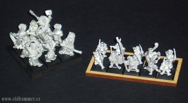 Oldhammer Empire flagellants halflings flagelantes Imperio