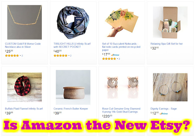 Is one of the world's largest online market places the next big thing for straying Etsy buyers and sellers? Amazon vs Etsy.  Sell your crafts on Amazon. #etsy #amazon Amazon vs Etsy etsy vs amazon handmade amazon handmade reviews amazon handmade vs etsy 2016 amazon handmade fees What is the Amazon marketplace?  Bohemian blog Bohemian mom blog Bohemian mama blog bohemian mama blog Hippie mom blog Offbeat mom blog offbeat home offbeat living Offbeat mama