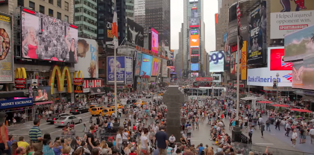 Times Square, Tourist Spot, New York