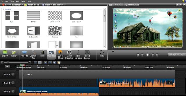 تحميل برنامج تصوير شاشة الكمبيوتر Studio Camtasia