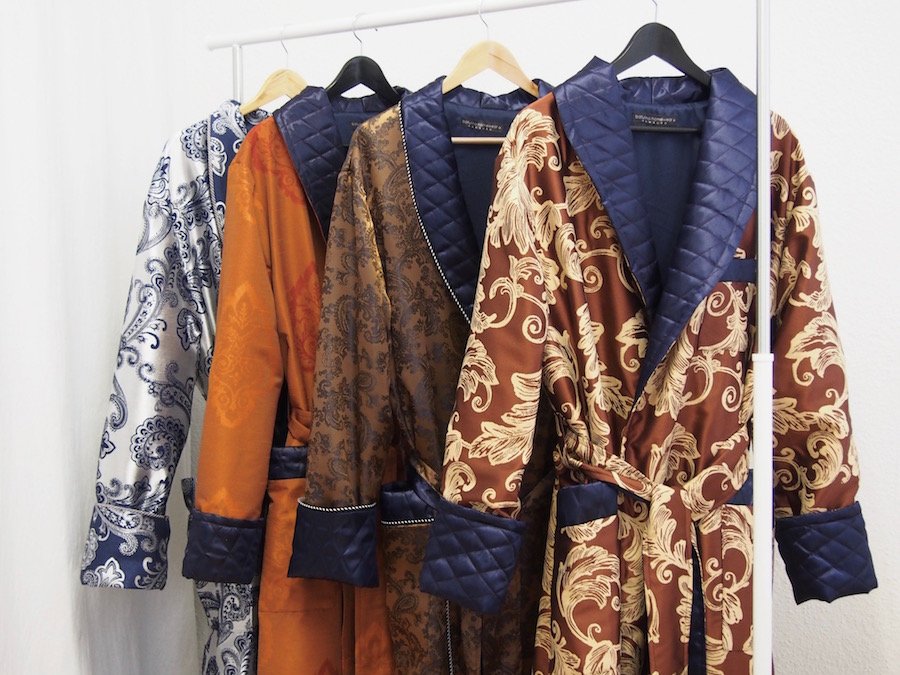 Luxury Silk And Velvet Robes Extra Long Full Length