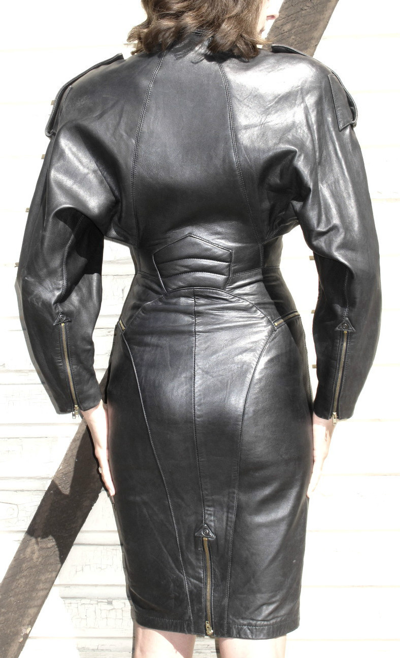 Ebay Leather North Beach Leather Biker Dress Sells For 285