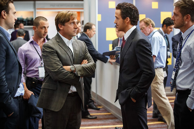 "Steve Carell and Ryan Gosling in ""The Big Short"""