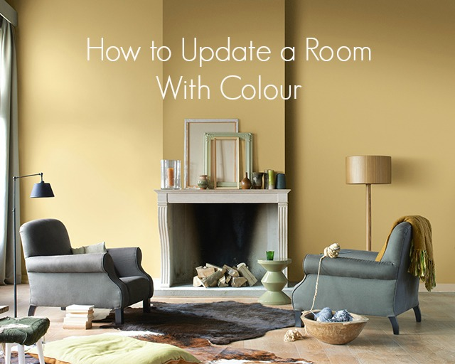 how to update a room with colour