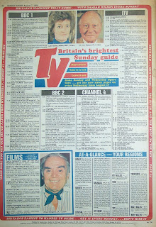 Back page of the Sunday Sport newspaper from 7 August 1988