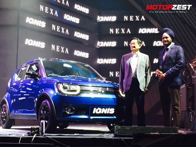 Maruti Suzuki Launches The Ignis At Rs.4.59 Lakhs