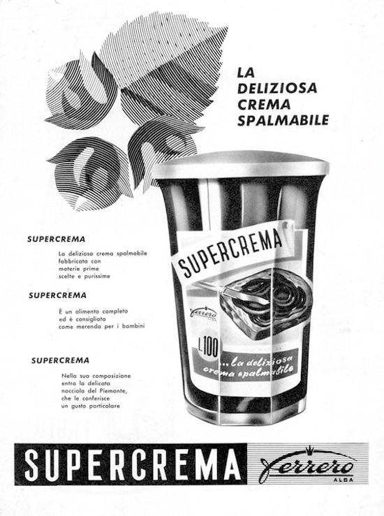 Supercrema advertising 1963