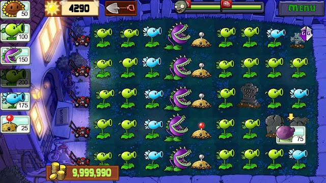 cheat plant vs zombie terbaru