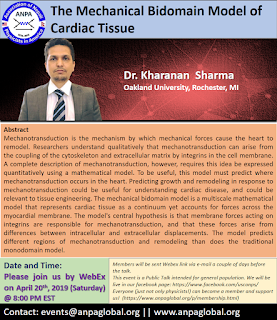 ANPA Talk: The Mechanical Bidomain Model of Cardiac Tissue