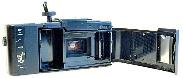 Olympus XA, film box