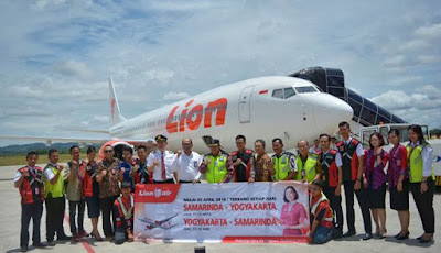 Penerbangan Perdana Lion Air JT869