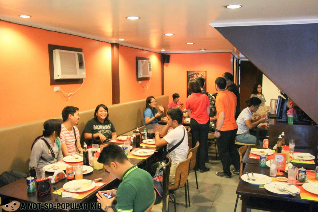 RAP Steaks and Cakes interior in Malate, Manila