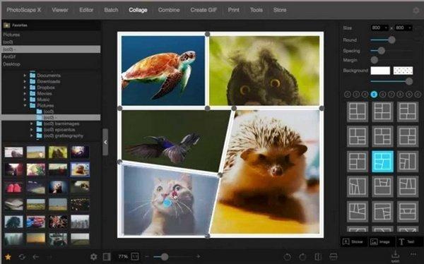 Fitur Kolase Foto di Software Photoscape
