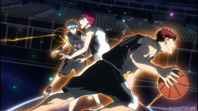 Kuroko dan Kagami vs Akashi
