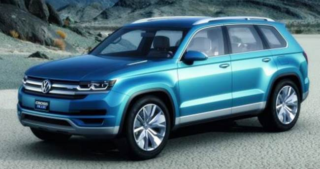 2017 VW CrossBlue Concept Review and Release