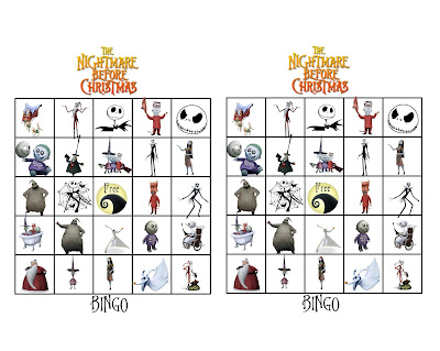 free nightmare before christmas games