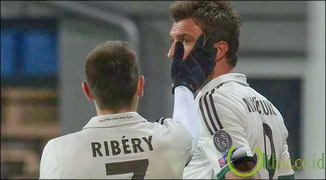Mario Mandzukic & Franck Ribery