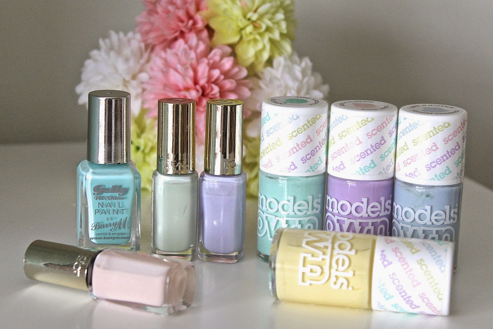 Favourite Spring Pastel Nail Polishes