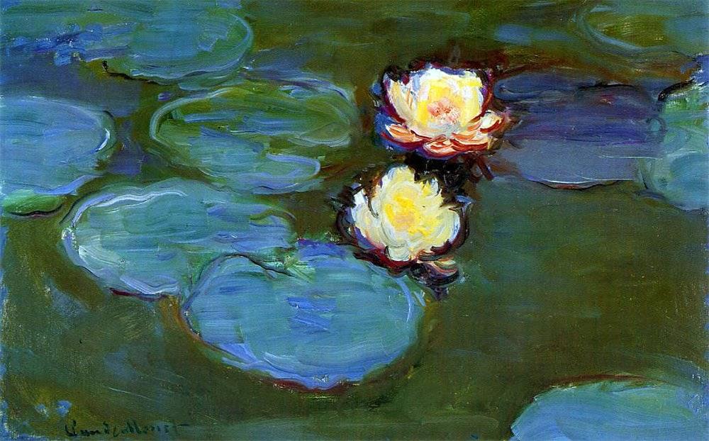 ART & ARTISTS: Claude Monet - part 23 1897 - 1922 Water Lilies