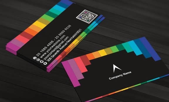 Multiple Business Card Template