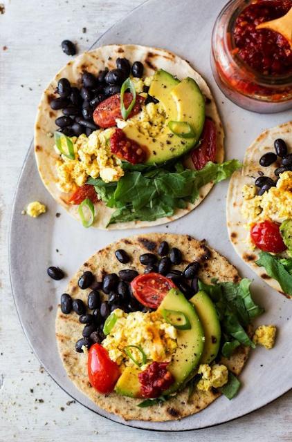 vegan breakfast tacos
