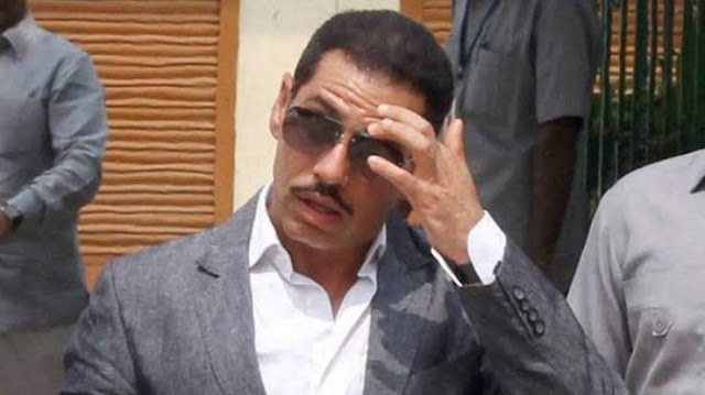 Bjp's dig at Robert Vadra.