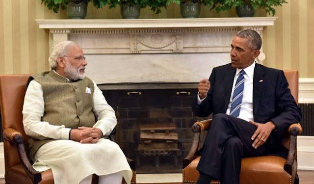 मोदी और ओबामा ने की चरमपंथ की चुनौती पर चर्चा