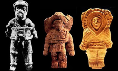 Ancient Aliens and Ancient astronauts.