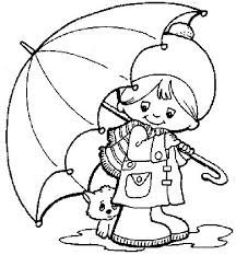 Umbrella Coloring Page 8